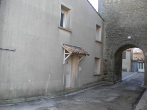 The House - front & archway